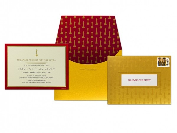 Marc Friedland Designed The Winners' Envelope For The Academy