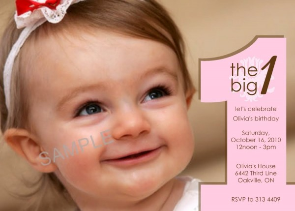 Cheap First Birthday Invitations — Birthday Invitation Examples