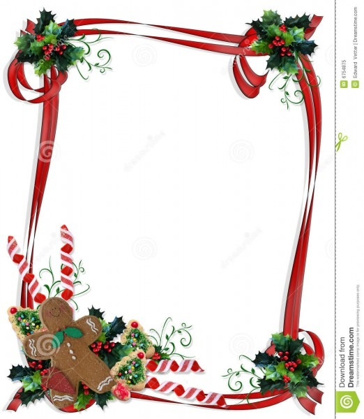 Christmas Invite Border