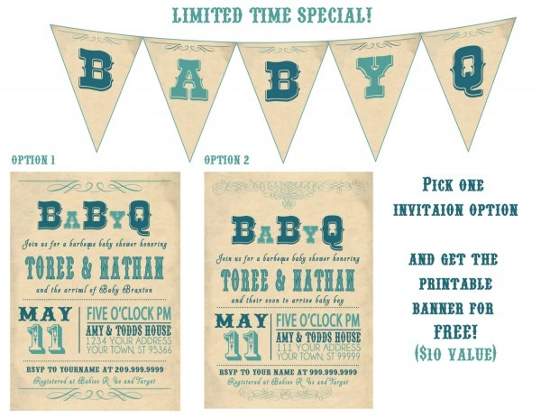 Eabacdabce Detailed Of Templates Coed Baby Shower Invitation