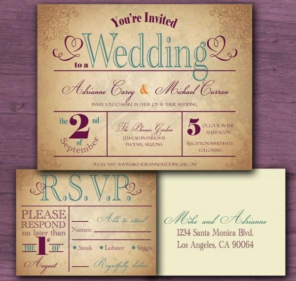 Country Wedding Invitation Wording Country Wedding Invitation