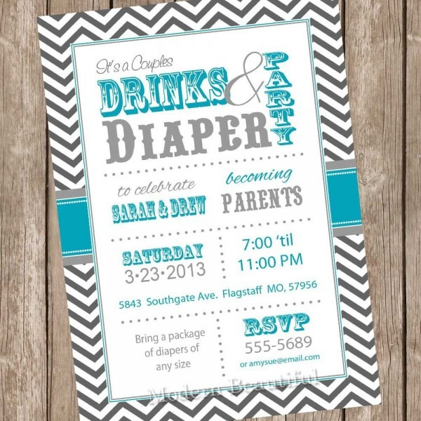 Couple Baby Shower Invitations