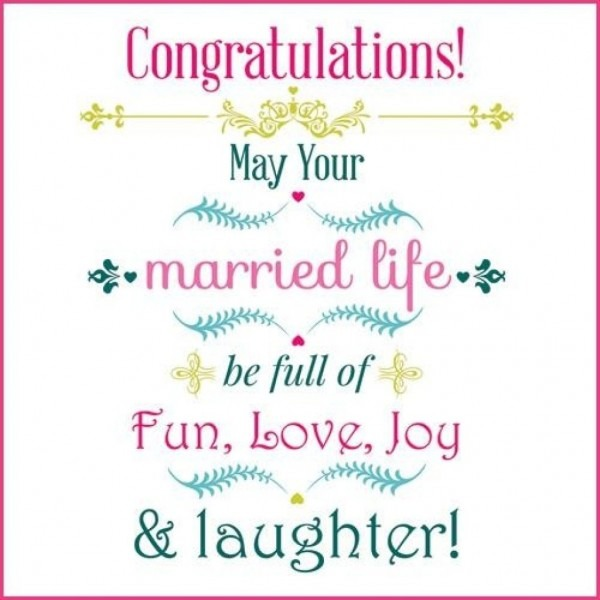 Congratulations Wedding Card And Get Inspired To Create Your Own