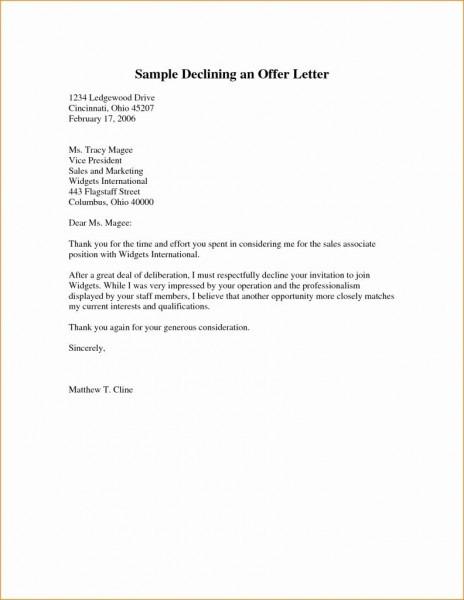 Invitation Letter Format Sample Inspirationalnew Meeting Decline