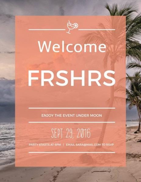 Freshers Party Sample Invitation Card Designs ~ Déjàvuh ~ Indian