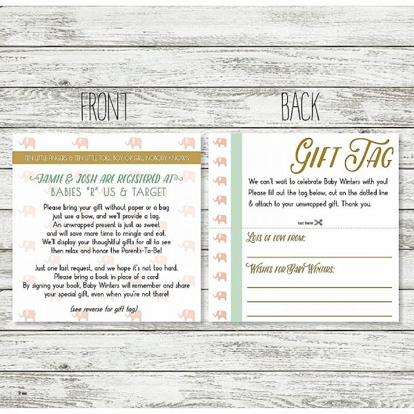 Do You Put Registry Cards In Wedding Invitations Fresh Best 12