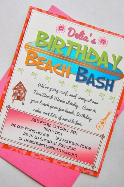 C  Is For Crafty  Teen Beach Movie Party