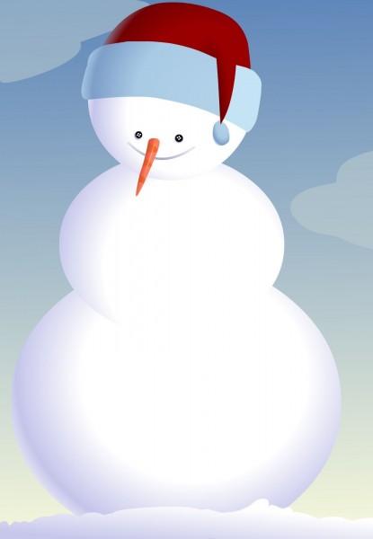 Free Printable Snowman Invitation