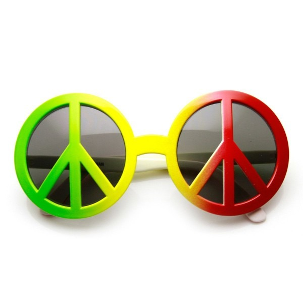 Peace Sign 70's Era Hippie Free Love Woodstock Novelty Costume