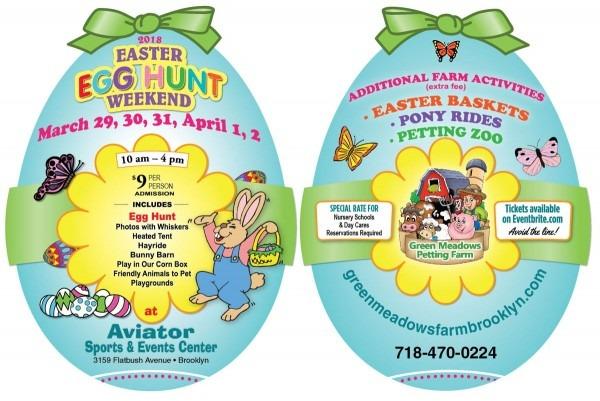 Egg Shapes Invitation Card Of Easter Egg Hunt Weekend