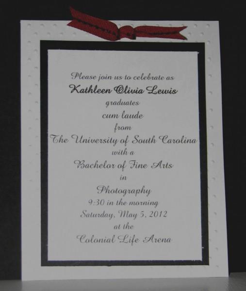 Amazing Of Graduation Invitation Etiquette Templates For