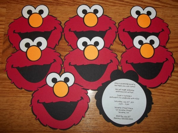 Elmo Party Invitations Elmo Party Invitations For Makes The Party