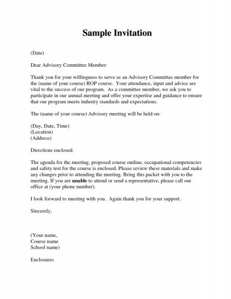 Global Business Meeting Invitation Letter Nice Meeting Invite