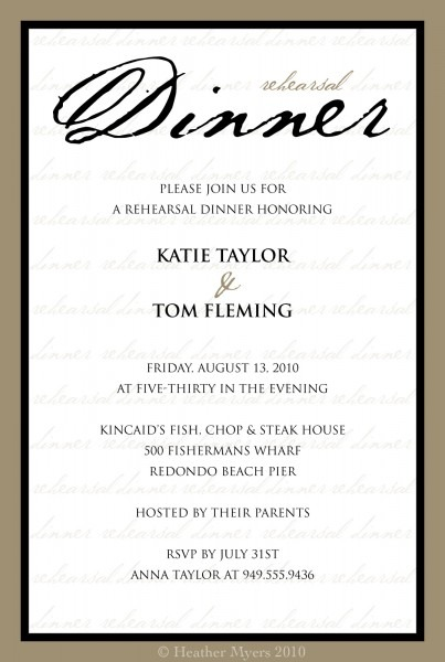 All About Dinner Party Invitation Wording Lovetoknow