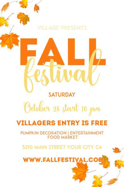 Fall Festival  Fall  Festival Image