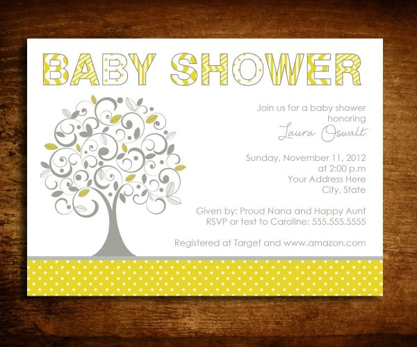 19 Images Of Family Tree Baby Shower Invitation Wording