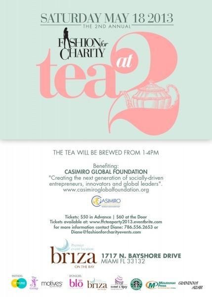 South Florida Nights Magazine » Fashion For Charity 'tea At 2