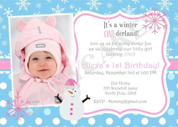 First B Superb 1st Birthday Invitation Wording
