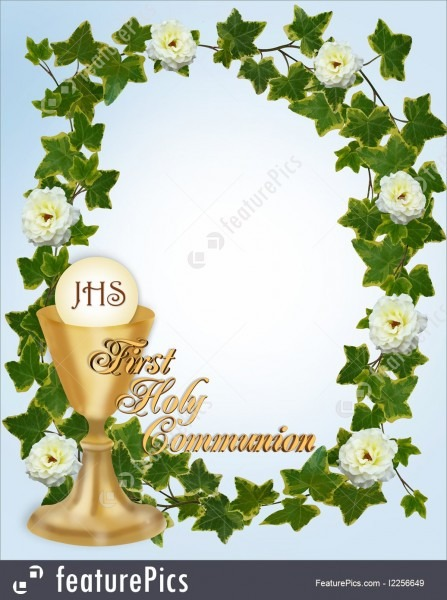 Templates  First Holy Communion Invitation