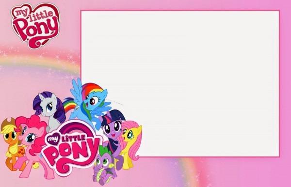 Free Printable Invitation Fresh My Little Pony Birthday