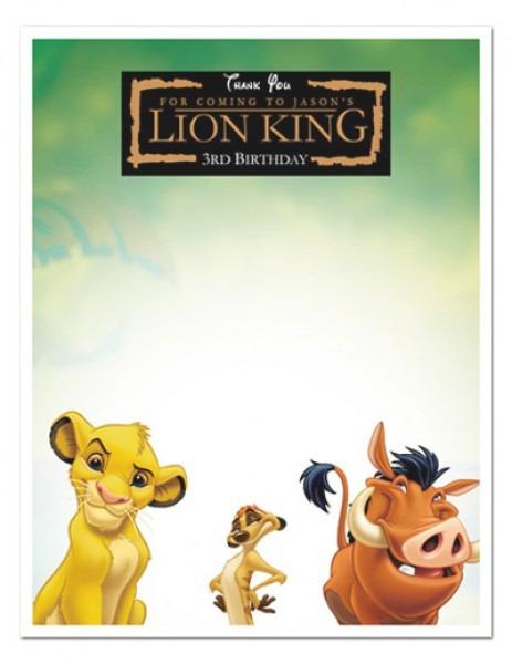Free Printable Lion King Invitations Epic Lion King Invitation