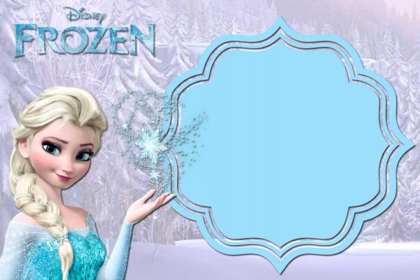 Frozen Birthday Card Template Best Templates Ideas Beautiful
