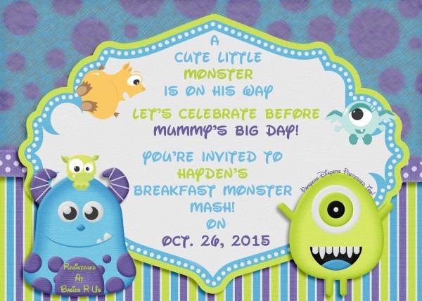 Free Monster Invitation