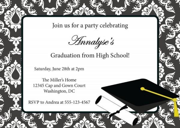 Free Graduation Invitation Maker