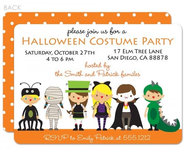 Halloween C Fresh Halloween Costume Party Invitations