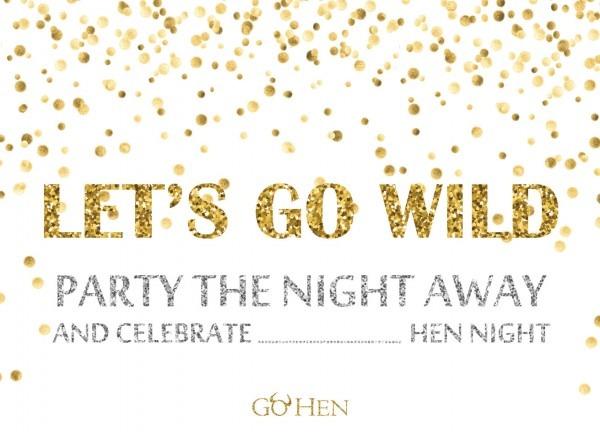 Hen Party Invitations – Funky & Retro Hen Invites