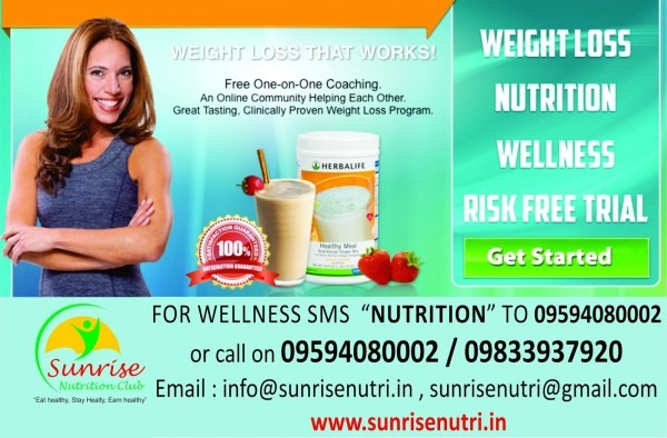 Sunrise Nutrition Club , Herbalife Independent Distributor In Navi