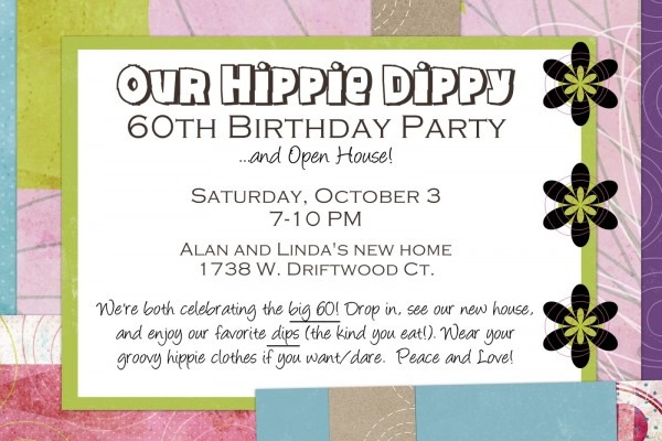 Lizzie Kate Blog  My Hippie Dippy 60th Birthday Party!!!