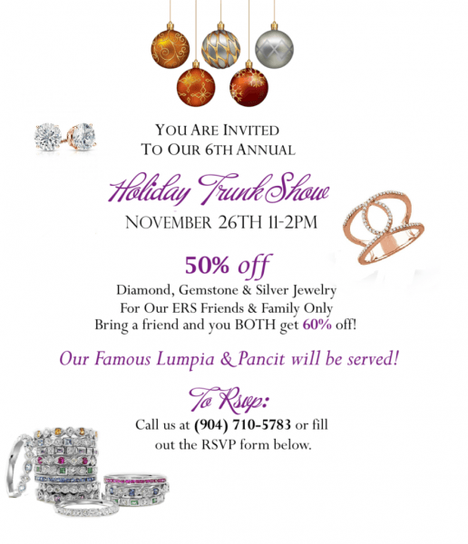 The Engagement Ring Studio's Holiday Trunk Show