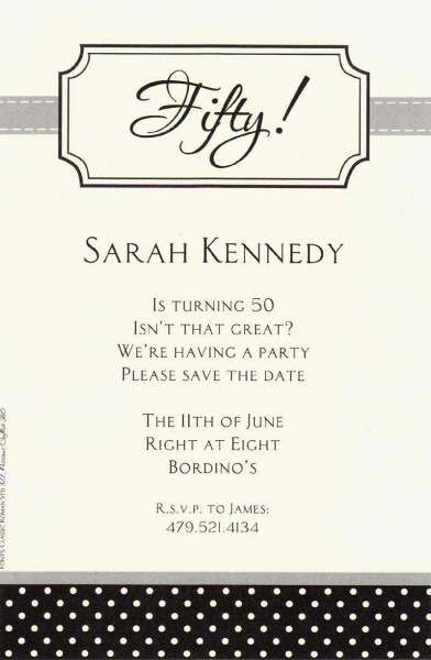 How To Write Invitation For Birthday Party Example