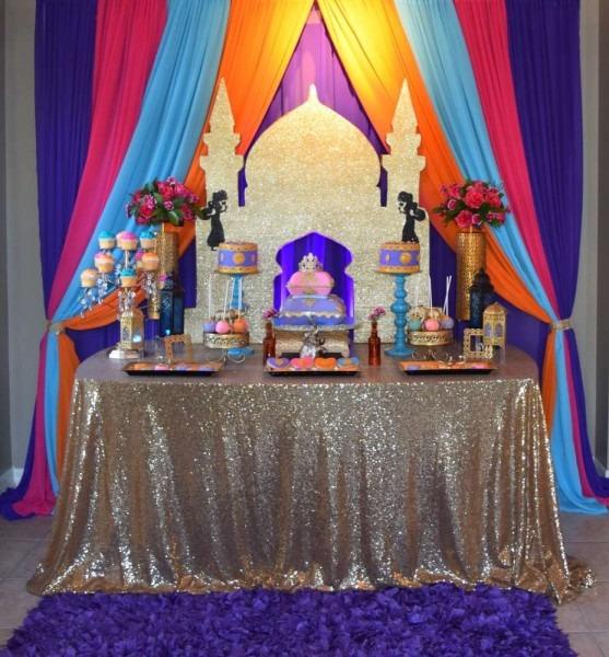 Moroccan Birthday Party Ideas
