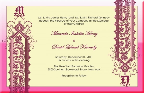 Indian Wedding Invitation And The Nice Looking Concept Of The