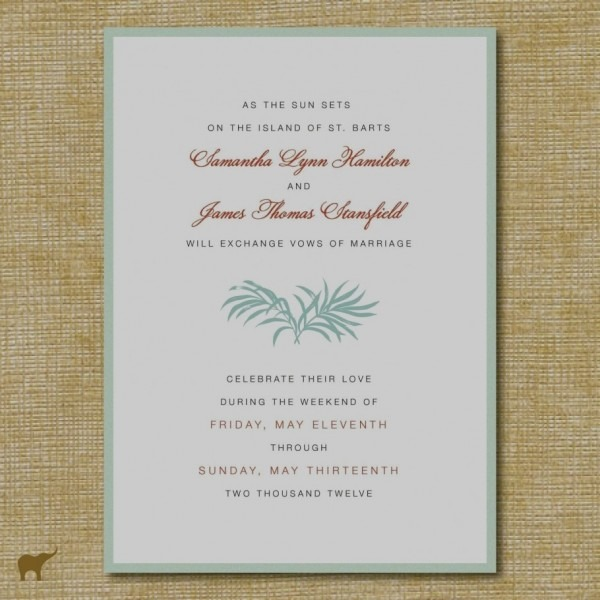 Indian Wedding Invitation Wording Sample Marriage Samples Tamil