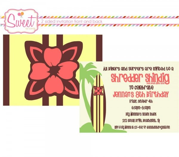 Disney Teen Beach Movie Surf Birthday Party Birthday Party Ideas