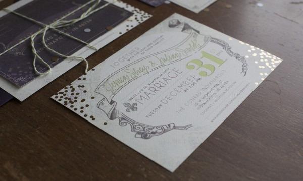 Jenny Tod Creative » Sparkled Vintage New Year's Eve Wedding