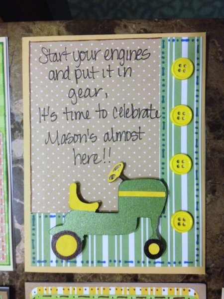 Lovely John Deere Baby Shower Invitations