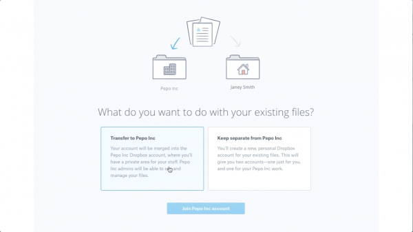 Transfer An Existing Dropbox Basic Or Plus Account To Dropbox