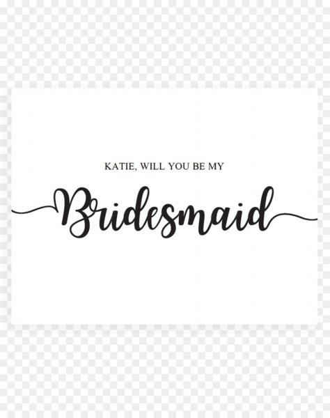 Wedding Invitation Bridesmaid Bridal Shower