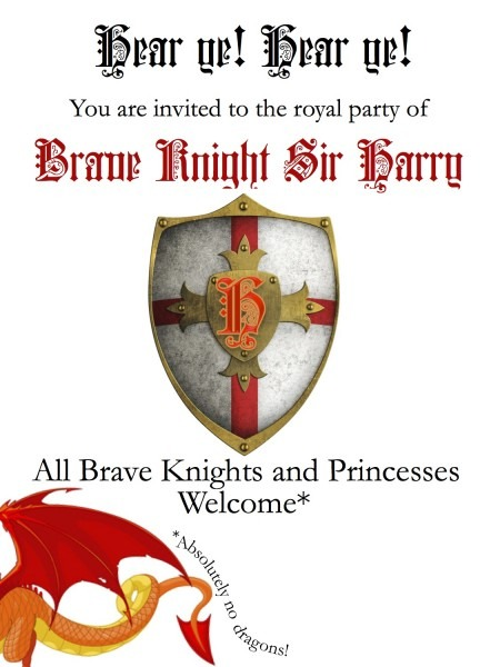 Diy Knights And Princesses Party  Invitations And Arrows!