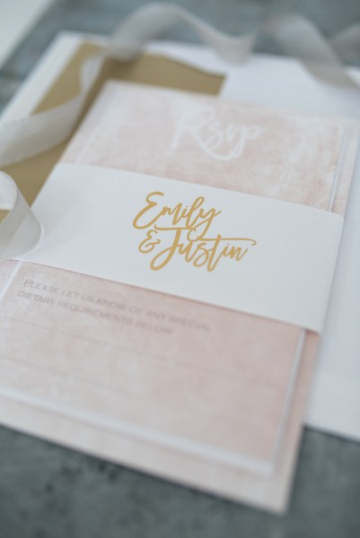 Luxe Collection Wedding Stationery From Knots & Kisses