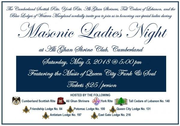 Combined Masonic Ladies Night