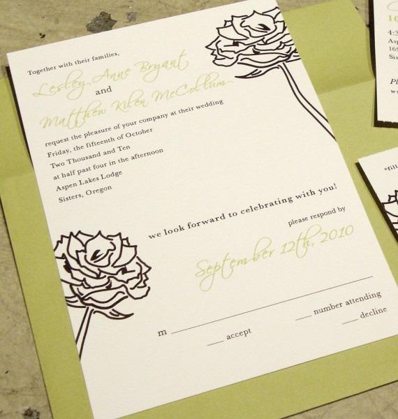 Wedding Invitation] Tear