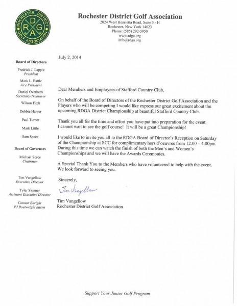 Rdga Invitation To Scc Membership