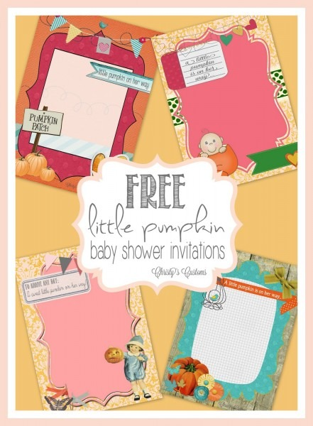 Little Pumpkin Baby Shower Invites Spectacular Fall Baby Shower