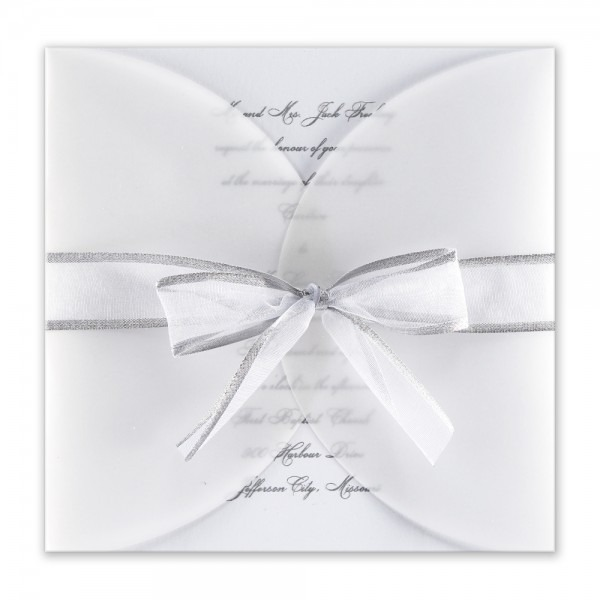 Lovable Silver Wedding Invitations Silver Wedding Invitations