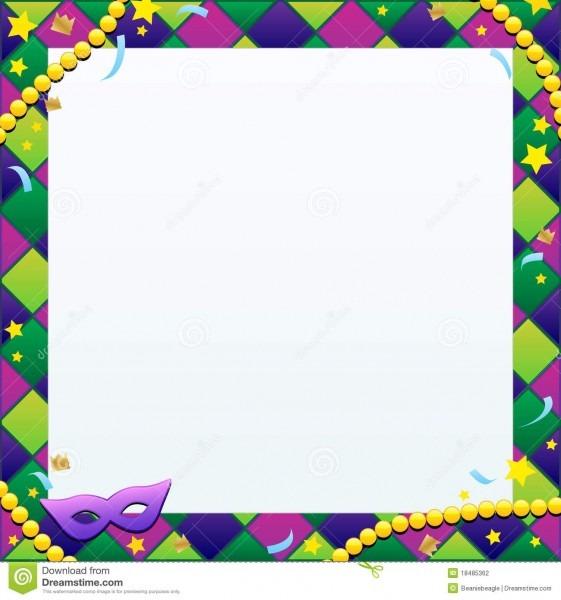 Mardi Gras Background Stock Vector  Illustration Of Celebration